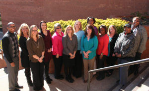 Photo of Advising Center and Student Success Center staff.