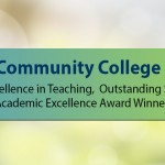 2015 Excellence in Teaching, Outstanding Staff, and Academic Excellence Award Winners